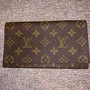 Authentic LV Fold Over Clutch Wallet